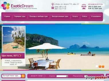 http://www.exotic dream.com