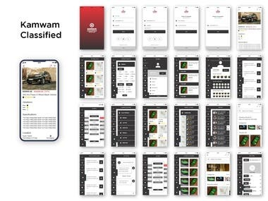 kamwam Classified Mobile App