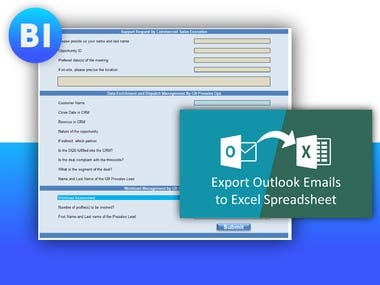 Automate Email Forms