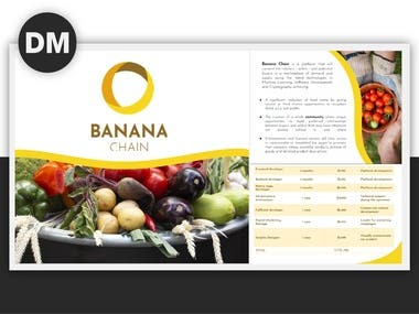Banana Chain StartUp Pitch Deck