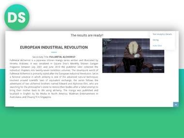 NLP & AI - Automated Presentation