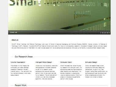 Smart Lab Website