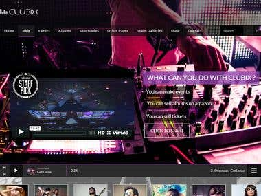 Nightlife, Music & Events WordPress Theme
