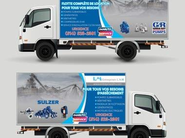 Service Truck Design