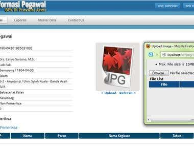 Upload Image PHP Javascript