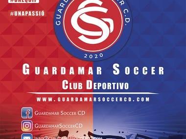 Roll up 200x200cm Club Deportivo