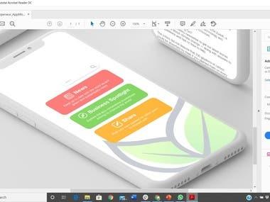 Web Developer and UI and UX designer app designer