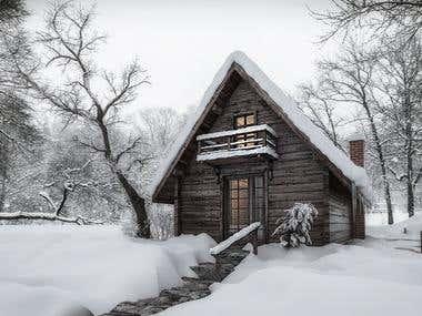 Cottage in Sweden