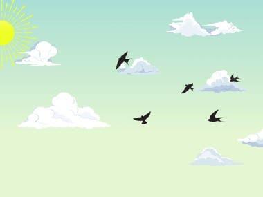 Advertisement 2D animation