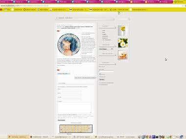 web page (blog) - www.bigfatdiary.com