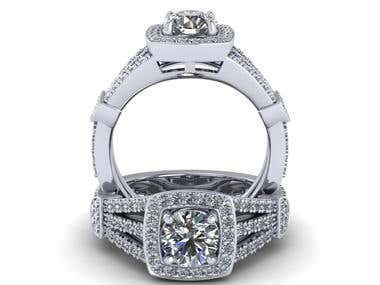 Rendered Image of the Ring
