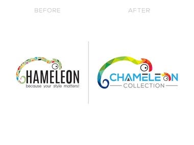 Professional and creative logo redesign.