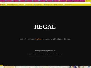 web page - www.regalmusic.ro