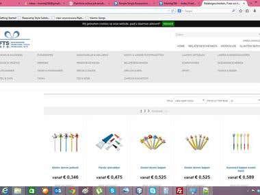e commerce web application