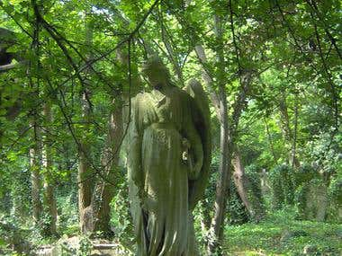 Angel of Highgate Cemetery