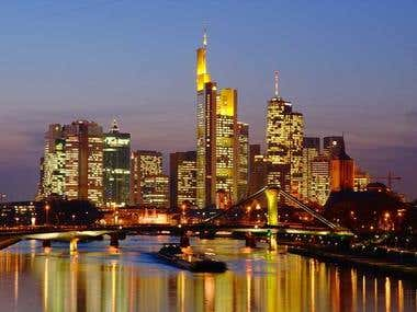 Frankfurt  is  the   best   city   of  Germany
