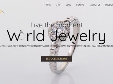 Gems & Jewels eCommerce Website