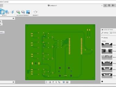 3D Modeling (Autodesk Fusion 360)