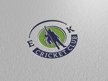 Logo Design for a Cricket club