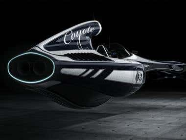 F1 COYOTE