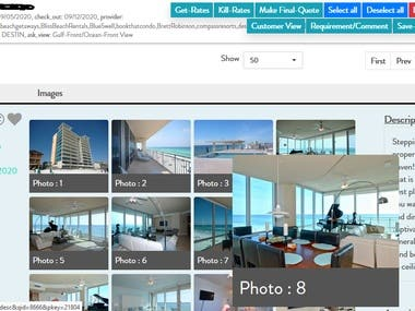Online Ticketing / Booking vacation rental - web scrapping