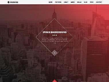 PSD TO HTML Design