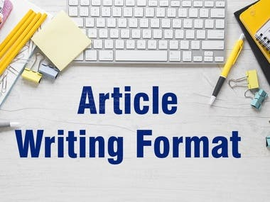 Article Writing Samples