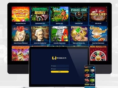 Weblima gaming platform