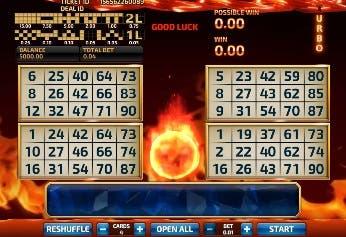 Bingo Firestorm (Betting Game)
