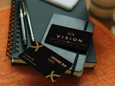 Vision Brand identity