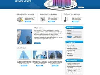 Drupal based SEO friendly Content Management System (CMS)