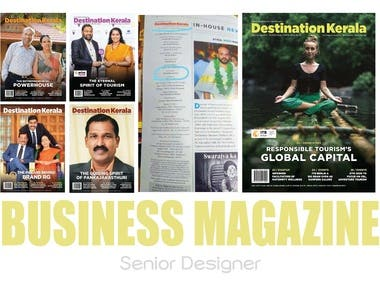 MAGAZINE DESIGN & LAYOUT