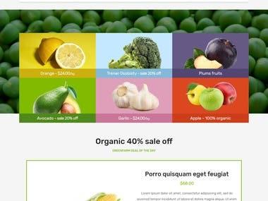 Meal Kit Website