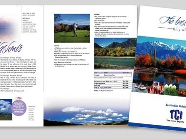 BROCHURE/BOOKLET/LEAFLET DESIGN