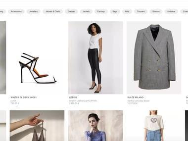 Online Shoptify Shop