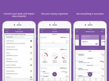 Personal Finance Manager for Mobile