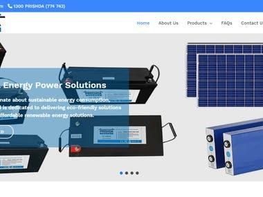 Build a website - www.prishda.com