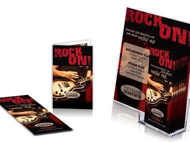 Guitar Center Marketing Material
