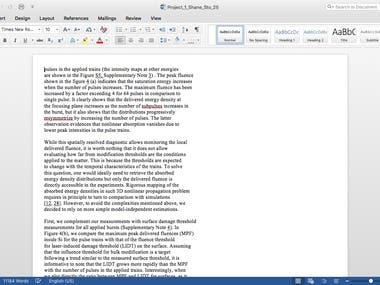 Copy Pasting from PDF to Word ( Completed)