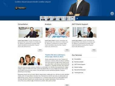 Content Management System (CMS) based on Yii Framework