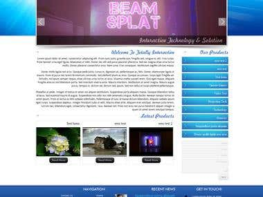 RTL Wordpress Website