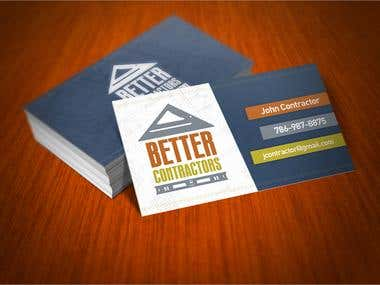 Better Contractors Business Cards