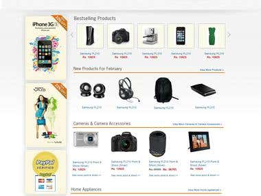 Electronic Gadget Online Store