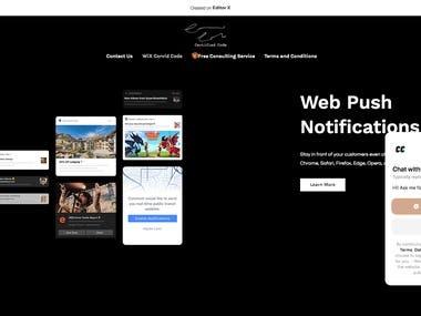 WiX Editor X Site