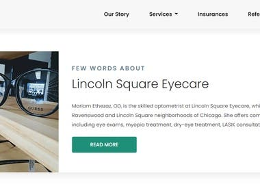 LSQ EYE CARE Website