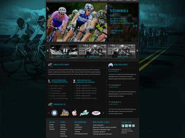 Athletic Event Website