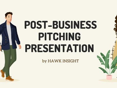 Post-Business Pitching Slides Design 2020
