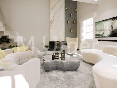 3D Luxury Villa Design