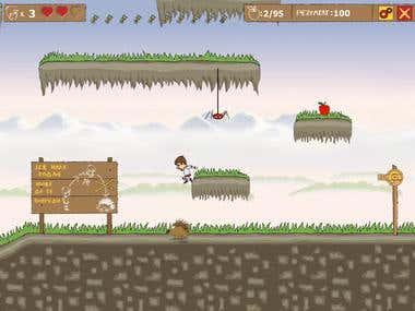 "Platform game ""Istokove avanture"""