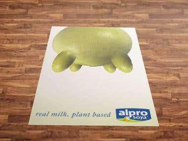 alpro poster design